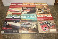 COMPLETE ROAD & TRACK MAGAZINE JANUARY-DECEMBER 1980 (OAK9677-1 LOC.DDD #473)