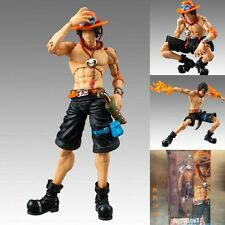 "Anime One Piece Portgas D Ace 18cm/7"" Action PVC Figure Moveble Model No Box"