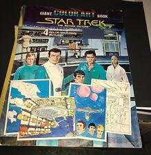 Star Trek  Giant Color Art Book 1979 Paramount Pictures - Huge