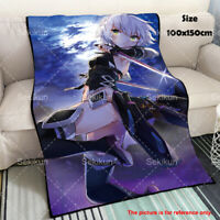 Anime Fate Apocrypha Jack the Ripper Soft Flannel Plush Throw Travel Blanket