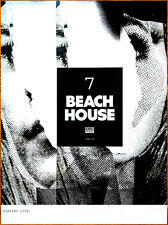 BEACH HOUSE '7' 2018 Ltd Ed New HUGE RARE Tour Poster +FREE Indie Rock Poster!