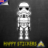 Star Wars Stormtrooper Luggage Car Skateboard Laptop Scooter Vinyl Decal Sticker