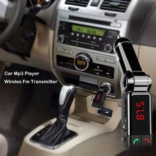 Wireless Handsfree Car Bluetooth Kit FM Transmitter Radio MP3 Player USB Charger