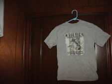 WOOLRICH MISC BOX #4 BASS SCENE short sleeve gray size boys small junior NEW