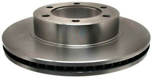 Disc Brake Rotor-Non-Coated Front ACDelco 18A1101A