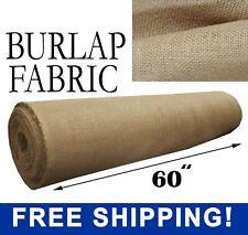 Burlap Fabric Natural - 60
