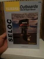 1997-2014 Yamaha 2 Stroke Engine Outboards 2-250 HP  Seloc Service Manual 0659
