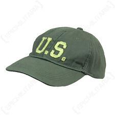 olive Pierre délavé US Casquette Baseball - chapeau soleil américain coton