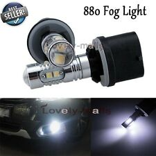 880 Plasma LED Bulb Fog Light DRL Replacement 890 893 899 6000K Cool White 50W Z