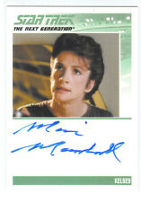 Star Trek The Next Generation Marie Marshall as Kelsey Autograph