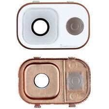 Samsung Galaxy Note 3 Kamera Glas Rahmen Abdeckung Scheibe Linse Weiss Gold