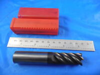 "SGS 11/16 DIA 1.7"" LOC 3/4 SHANK 4"" OAL 5 FLUTE SOLID CARBIDE END MILL TOOLING"