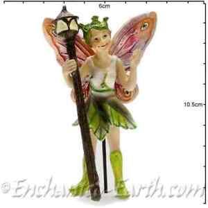 New Fairy Garden Fairy - Georgetown/Fiddlehead Woodland Fairy Foxglove - 10cm