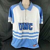 Vintage Nike Mens XL UNC North Carolina Tar Heels Warm Up Shooting Shirt HTF 90s