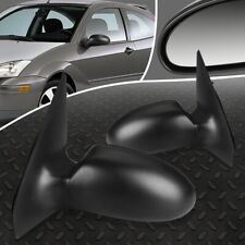 FOR 00-02 FORD FOCUS PAIR OE STYLE MANUAL ADJUSTMENT SIDE REAR VIEW DOOR MIRROR