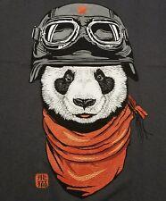 """The Happy Adventurer"" Panda Men's Medium Shirt Teefury"