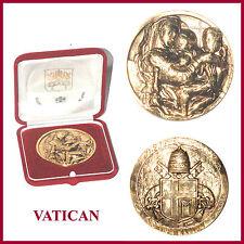 VATICANO MEDAGLIA GRANDE MODULO 11-2-1929 11-2-2005 TOTUS TUUS MEDAILLE VATICAN