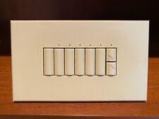 Lutron ST-5BRL-NI HomeWorks Wired 5 Button Keypad (Almond)
