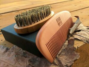 Best Beard Comb & Beard Brush Bundle for Men  | Beard Grooming kit