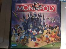 RARE Monopoly - Disney Edition - Square Box - Complete - 2001