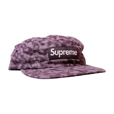 Supreme NY Liberty Cord Camp Cap Purple White New FW14 rare box logo 5 panel