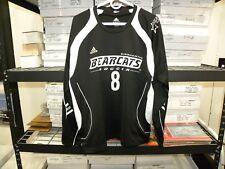 Binghamton University Bearcats Ncaa Game Worn Soccer Jersey #8 Long Sleeve
