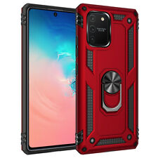 For Samsung Galaxy S10 Lite/A91 Case Magnetic Ring Stand Cover/Screen Protector