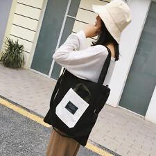 Women's Fashion Shoulder Bags Messenger Casual Canvas Student Crossbody Bag LE