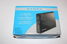 "Dynex DX-PHD35 3.5"" External USB 2.0 Hard Drive Enclosure"