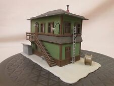 HO SCALE STRUCTURE LAYOUT BUILDING LOT 730 INTERLOCKING TOWER