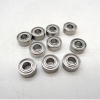 10pcs/lot MR85ZZ 5X8X2.5mm miniature deep groove Ball Bearings MR85 L-850ZZ