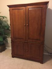 Home Office Armoire/ Computer Hutch/folding desk by Ethan Allen