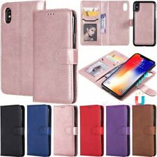 Magnetic Removable Leather Wallet Case Cover For Huawei Mate 20 Lite P10 P20 Pro