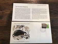 Stamps Netherlands 🇳🇱 1976 WWF European Hedgehog World Wildlife Fund FDC