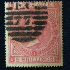 Great Britain Sc #57 Used P 1 1867