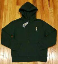 003709f5 Polo Ralph Lauren Boys Teddy Bear Hoodie Zip Sweatshirt Green Sz L  THESPOT917