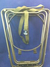 NEW IN BOX FOLDING ALUMINUM BASIN STAND w/ CASE MILITARY ISSUE CAMPING
