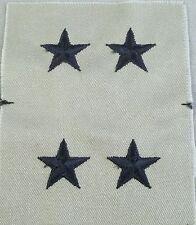 US Army Tan Cloth Rank Insignia Major General