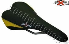 Jaxcy elegante MOUNTAIN BIKE XC RACER SADDLE RAIL TITANIO