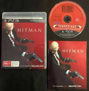 PlayStation 3 Hitman Absolution Assassin Game Sony PS3 Complete Manual FREE POST