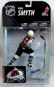 McFarlane NHL Sports Picks Series 19 RYAN SMYTH Colorado Avalanche WHITE JERSEY