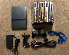 Playstation 2 Slim Console Lot 11 Games 1 Controller Ps2 Bundle Tested Extras