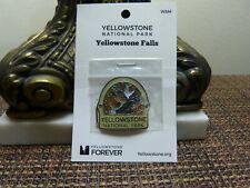 Yellowstone National Park Walking Hiking Stick Medallion - Yellowstone Falls