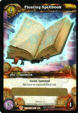 WOW Floating Spellbook LOOT CARD UNSCRATCHED NEW - WORLD OF WARCRAFT