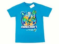 Boys Minecraft T Shirt STEVE Zombies Mojang Size 14 - 16 XL Video Game Graphic