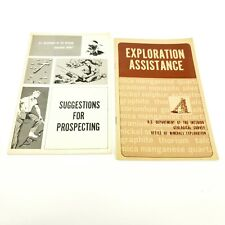 1967 Us Department Of The Interior Geological Survey Handouts