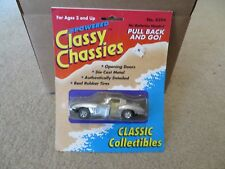 Road Runners Powered Classy Chassies #4394 Corvette Sting Ray Silver 1991 MOC