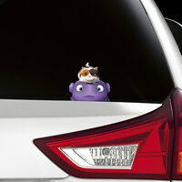 HOME 2015 OH BOOV Peeking Funny Joke Novelty Car Bumper Window Sticker Decal New