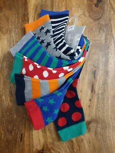 John Lewis Boys cotton rich Socks Bundle x7. Size 6 - 8.5. BNWT