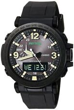 Casio Men's 'PRO TREK' Quartz Resin & Silicone Casual Watch PRG-600Y-1CR